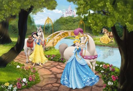 Princess Royal gala wall mural